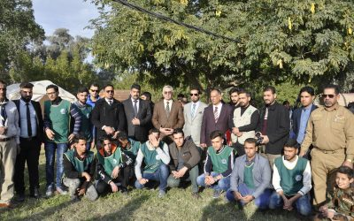 جامعة واسط تقيم مخيمها الكشفي التطوعي الأول