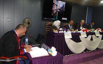كلية التربية تناقش رسالة ماجستير حول وزراء مغول فارس وأثرهم في الحياة العامة