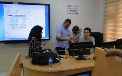 كلية التربية تستقبل وفدا من الخبراء الكوريين المتخصص في فحص وصيانة المختبرات
