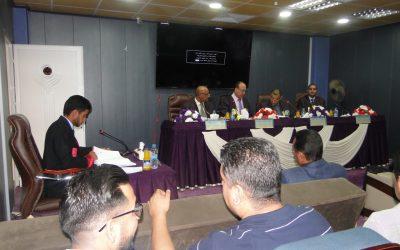 كلية التربية تناقش رسالة ماجستير عنى التعليم المهني في العراق