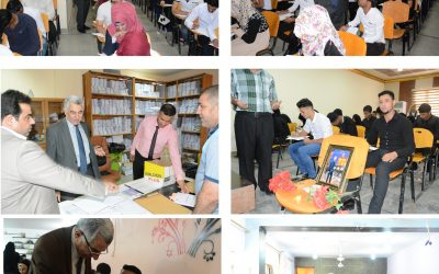 اكثر من 16 الف طالب يتوجهون لاداء الامتحانات النهائية في جامعة واسط