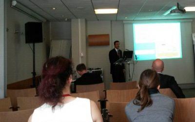 تدريسي في كلية الهندسة يشارك في المؤتمر الدولي لعلم وتكنولوجيا الاغشية في باريس