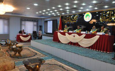 كلية التربية تناقش رسالة ماجستير عن الانتخابات البرلمانية في محافظة واسط من 2010ـ2014 دراسة في جغرافية السياسة