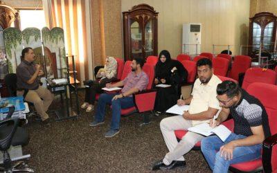 مركز التعليم المستمر في جامعة واسط ينظم دورة سلامة اللغة العربية