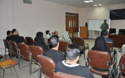 كلية التربية تنظم حلقة نقاشية حول مناهج البحث العلمي في التربية وعلم النفس