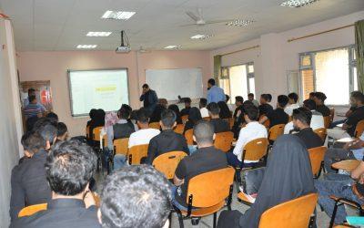 كلية التربية تنظم ندوة تعريفية عن الرياضيات والمجتمع