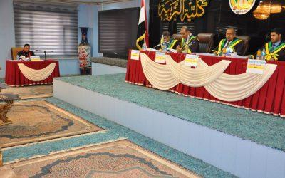 كلية التربية في جامعة واسط تناقش رسالة ماجستير حول النخاسة في بغداد حتى نهاية العصر العباسي