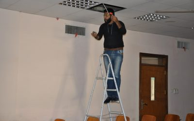 كلية التربية تشهد حملة تأهيل وتطوير وتنظيف لمرافقها المختلفة