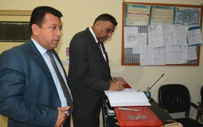 رئيس الجامعة يطلع على الخدمات المقدمة لطلبة الأقسام الداخلية