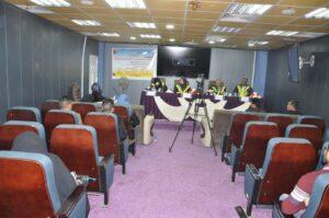 كلية التربية تنظم محاضرة ثقافية بمناسبة استشهاد فاطمة الزهراء عليها السلام