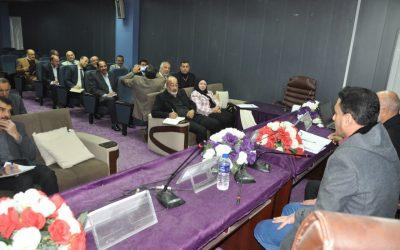 كلية التربية تقيم دورتين تطويريتين لمدراء المدارس والمشرفين التربويين