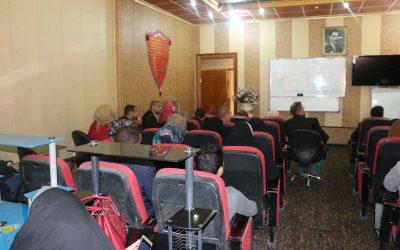 جامعة واسط تنظم دورة عن اللغة الانكليزية للمتقدمين للدراسات العليا