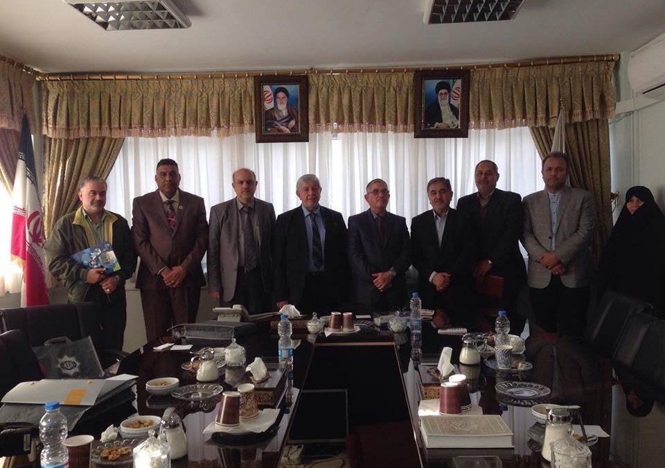 رئيس جامعة واسط في زيارة رسمية إلى جمهورية إيران الإسلامية
