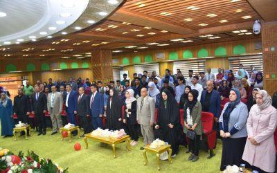كلية الهندسة تحتفل بعيد المرأة العراقية