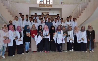 كلية الطب البيطري تنظم سفرة علمية إلى المستشفى البيطري التعليمي في واسط/ الكوت