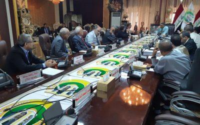 مجلس جامعة واسط يعقد جلسته الاعتيادية الثانية والعشرون