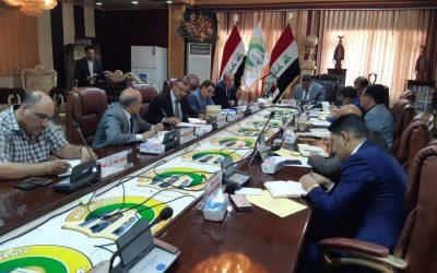 مجلس جامعة واسط يعقد جلسته الاعتيادية الثالثة والعشرون