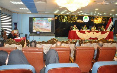 كلية التربية تناقش رسالة ماجستير عن مقاييس التركز والتشتت لسكان محافظة واسط