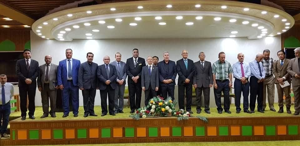 رئيس جامعة واسط يستقبل سفير جمهورية إندونيسيا في العراق