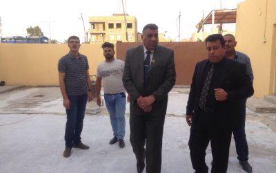 رئيس جامعة واسط يزور قسم شؤون الأقسام الداخلية للاطلاع على استعداداتها لاستقبال العام الدراسي الجديد