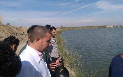 كلية الطب البيطري تنظم سفرة علمية لأحواض الطينية للأسماك في قضاء النعمانية