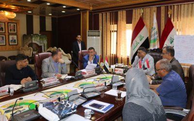 مجلس جامعة واسط يعقد جلسته الاعتيادية السابعة للعام الدراسي 2018/  2019