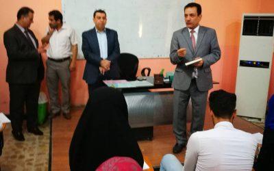 . لجنة وزارية تتفقد القاعات الامتحانية في جامعة واسط
