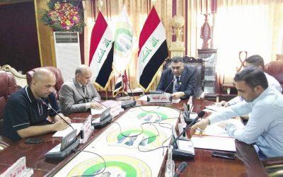 مجلس اعمار جامعة واسط يعقد جلسته الثالثة