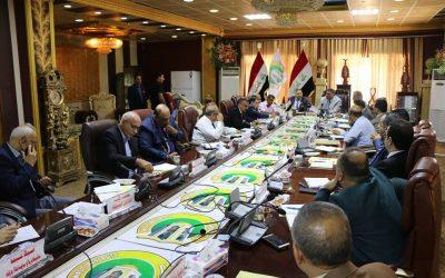 مجلس جامعة واسط يعقد جلسته الاعتيادية السابعة والعشرون للعام 2017/2018