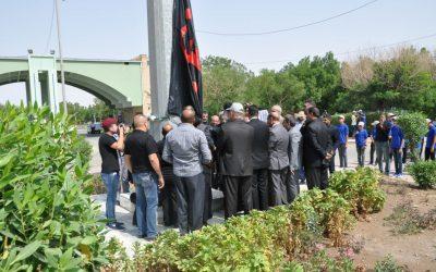 جامعة واسط تحتضن احتفالية مراسيم رفع راية الإمام الحسين عليه السلام
