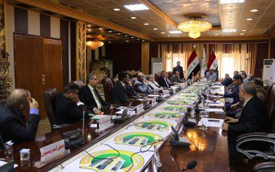 مجلس جامعة واسط يعقد جلسته الاعتيادية الخامسة للعام الدراسي 2018/2019