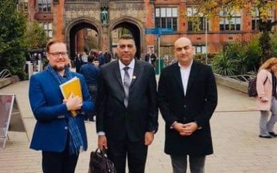 رئيس جامعة واسط يشارك في برنامج CPD البريطاني لجامعة سندرلاند البريطانية
