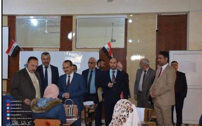 عميد كلية الطب البيطري في جامعة واسط يشارك في اجتماع عمداء كليات الطب البيطري في العراق السابع والعشرين