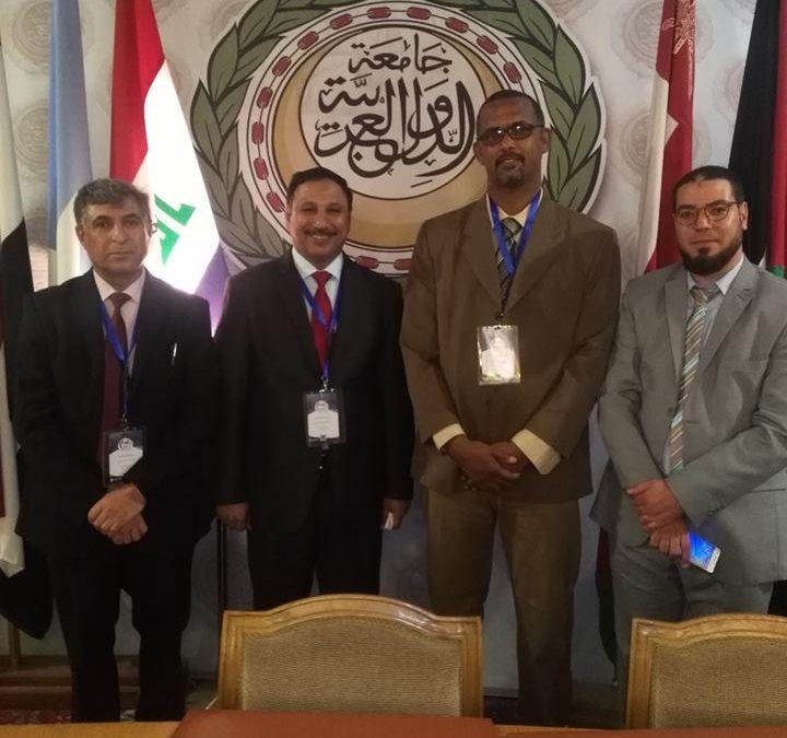 تدريسي في كلية التربية للعلوم الإنسانية يشارك في المؤتمر الجغرافي الدولي الثاني في جمهورية مصر العربية
