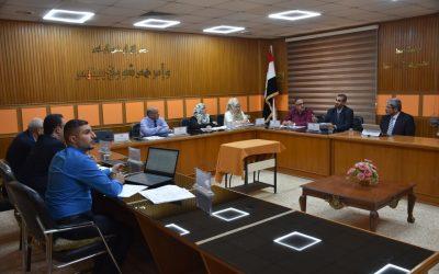 وفد  من مجلس الاعتماد العراقي للتعليم الهندسي يزور جامعة واسط