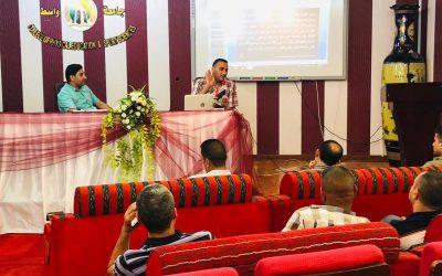 كلية التربية البدنية وعلوم الرياضة تقيم ورشة عمل عن نظام المقررات في الجامعات العراقية
